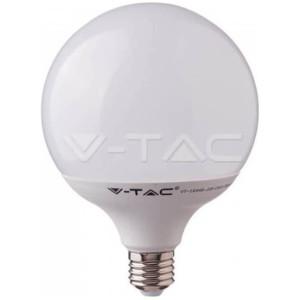 Λάμπα LED G120 18W E27 3000Κ Θερμό Λευκό Samsung Chip  V-TAC 123
