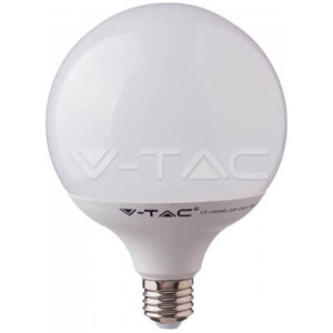 Λάμπα LED G120 18W E27 4000Κ Ουδέτερο Λευκό Samsung Chip  V-TAC 125
