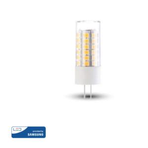 Λάμπα LED Spot 12V G4 3.2W Samsung Chip 3000K-Θερμό Λευκό V-TAC 131 Πλαστική