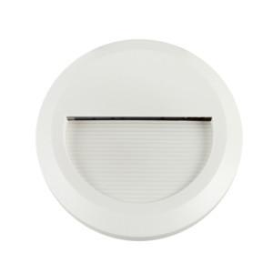 Επιτοίχιο Φωτιστικό Σκαλιών Led 2W 3000K Θερμό Λευκό IP65 Λευκό V-Tac 1315