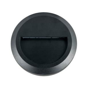 Επιτοίχιο Φωτιστικό Σκαλιών Led 2W 3000K Θερμό Λευκό IP65 Μαύρο V-Tac 1317