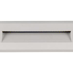 Επιτοίχιο Φωτιστικό Σκαλιών Led 3W 3000K Θερμό Λευκό IP65 Λευκό V-Tac 1327