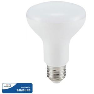 Λάμπα LED με chip SAMSUNG 10W Καθρέπτου/R80 E27 4000K Ουδέτερο Λευκό V-Tac 136