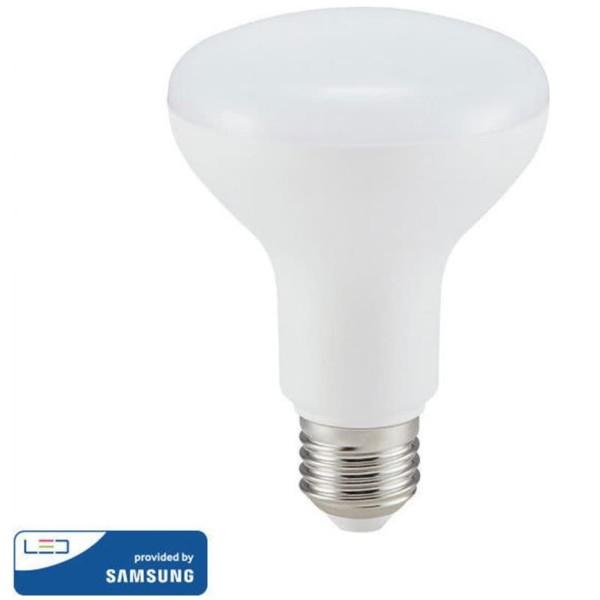 Λάμπα LED με chip SAMSUNG 10W Καθρέπτου/R80 E27 6400K Ψυχρό Λευκό V-Tac 137