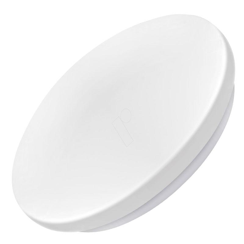 LED Dome Πλαφονιέρα Στρογγυλή 14W Λευκό Σώμα Θερμό Λευκό 3000K  V-TAC 1428