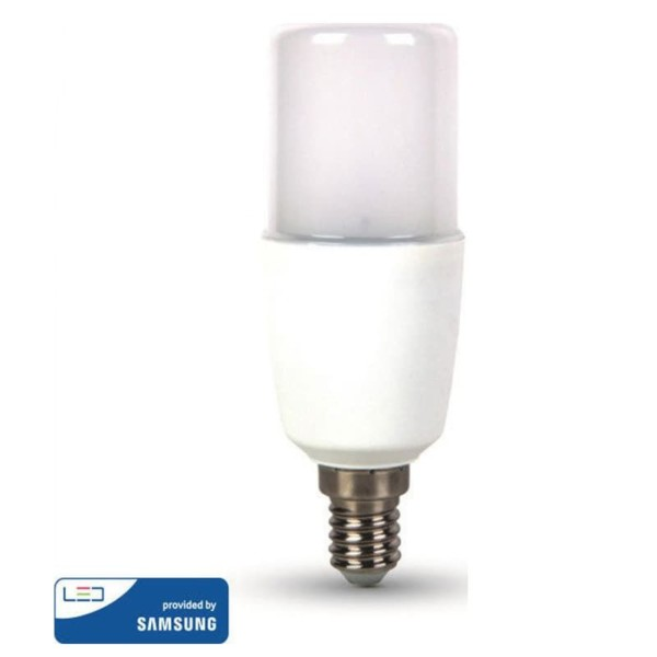 LED Τ37 Samsung Chip 8W E27 Ψυχρό Λευκό-6400K V-Tac 146