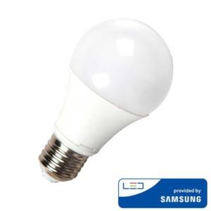 Λάμπα LED με chip SAMSUNG 9W A58 E27 3000K Θερμό Λευκό
