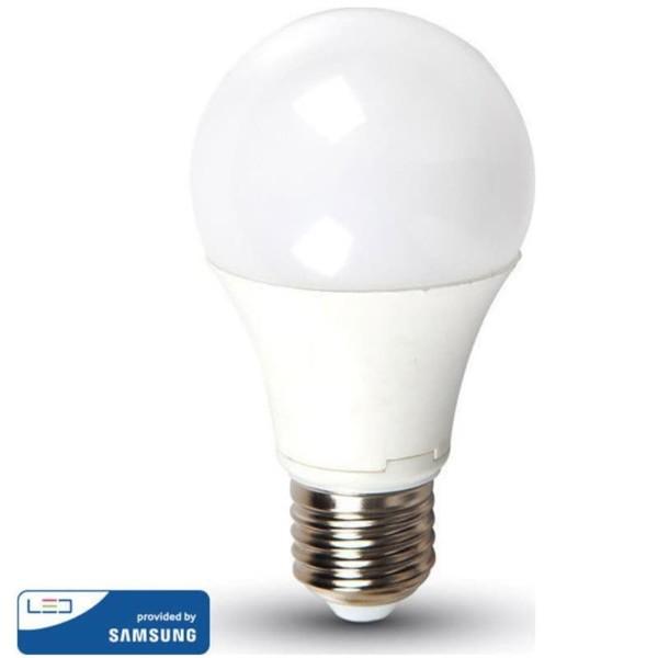 LED Plastic Samsung Chip Τύπου Αχλάδι A65 15W E27 Θερμό Λευκό-3000K V-Tac 159