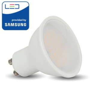 Λάμπα LED GU10 220V 110° 5W Samsung Chip 4000K-Ουδέτερο Λευκό V-TAC 202
