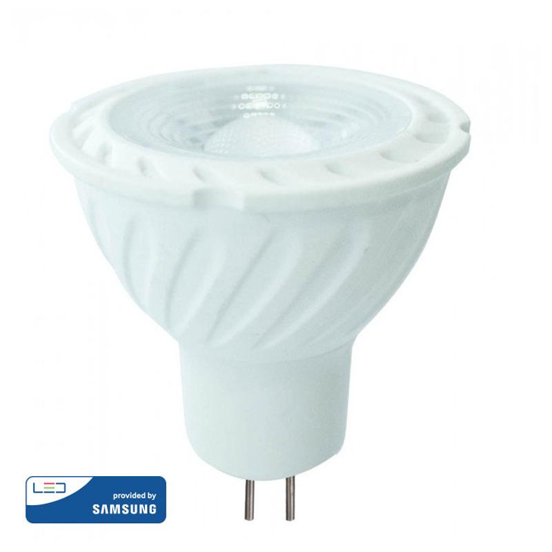LED Spot MR16 GU5.3 6.5W 38° Samsung Chip Ουδέτερο Λευκό-4000K V-Tac 208
