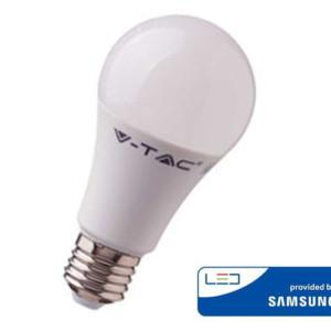 Λάμπα LED V-Tac 229 με chip SAMSUNG 9W A58 E27 4000K Ουδέτερο Λευκό