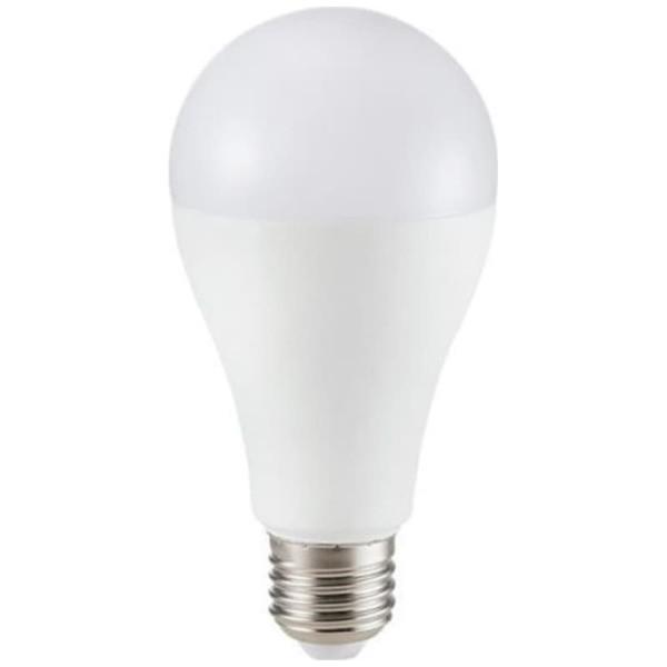 Λάμπα LED Αχλάδι A65 12W E27 High Lumen 120lm/w A++ Samsung Chip 3000K-Θερμό Λευκό V-TAC 249