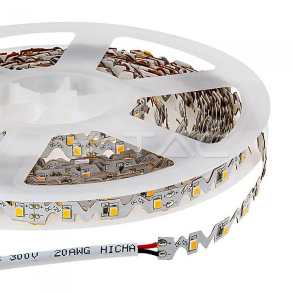 Εύκαμπτη Ταινία 5 μέτρα LED 4W 300lm 2835 60led 12V IP20 3000K Θερμή Λευκή V-TAC 2559