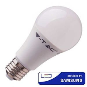Λάμπα LED 6.5W A60 Samsung Chip 4000K-Ουδέτερο Λευκό V-TAC 256