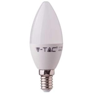 Λάμπα LED Κερί 4.5W E14 High Lumen 120lm/w A++ Samsung Chip 3000K-Θερμό Λευκό V-TAC 258