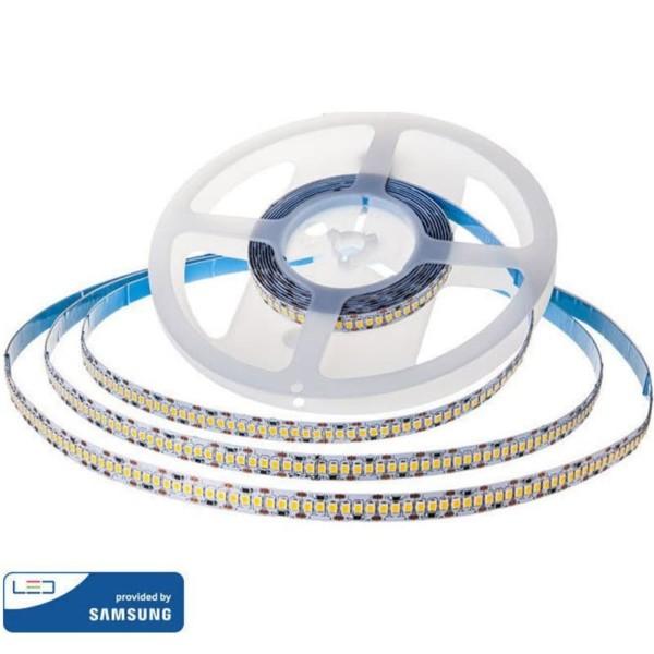LED Ταινία 15W Samsung Chip Dimmable 24V 1600lm/m Ψυχρό Λευκό 6400Κ 10 Μέτρα V-Tac 322