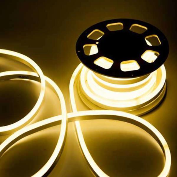 Ταινία LED Neon Flex V-Tac Samsung Chip 10W/m DC 12V IP65 Θερμό Λευκό 3000Κ 5M V-Tac 326