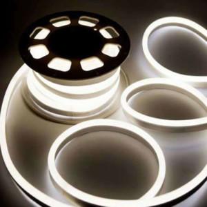 Ταινία LED Neon Flex V-Tac Samsung Chip 327 10W/m DC 12V IP65 Ουδέτερο Λευκό 4000Κ 300lms/m