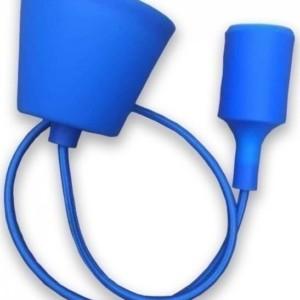 Ανάρτηση Μπλε Κρεμαστό Φωτιστικό Σιλικόνης 1Φ V-TAC 3476