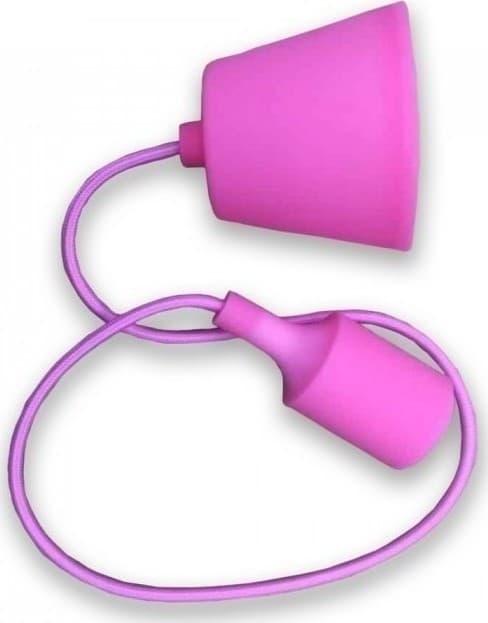 Ανάρτηση Ροζ Κρεμαστό Φωτιστικό Σιλικόνης 1Φ V-TAC 3479