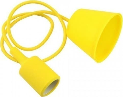 Ανάρτηση Κίτρινη Κρεμαστό Φωτιστικό Σιλικόνης 1Φ V-TAC 3485