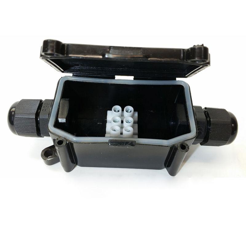 Αδιάβροχο Κουτί με Κλέμα Σύνδεσης V-TAC 3578 Μαύρο