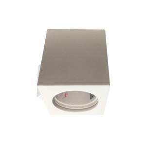 Σποτ Οροφής Επιφανείας Γύψινο Λευκό V-Tac 3664 Τετράγωνο 70x70x75mm