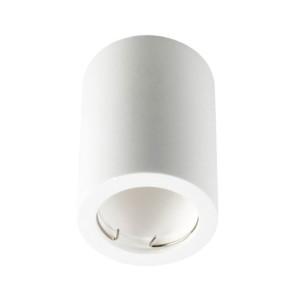 Σποτ Οροφής Επιφανείας Γύψινο Λευκό V-Tac 3665 Στρογγυλό Φ70x75mm