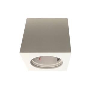 Σποτ Οροφής Επιφανείας Γύψινο Λευκό V-Tac 3666 Τετράγωνο 75x75x75mm