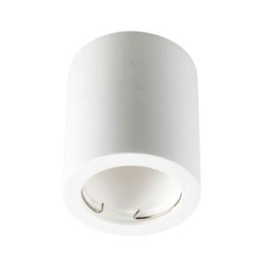 Σποτ Οροφής Επιφανείας Γύψινο Λευκό V-Tac 3667 Στρογγυλό Φ75x75mm