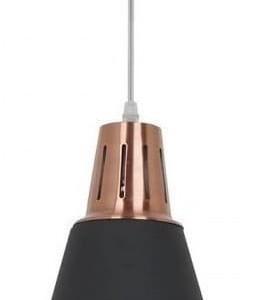 Κρεμαστό Φωτιστικό 1Φ Μεταλλικό Μαύρο (Αμμοβολή) V-TAC 3700