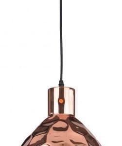 Κρεμαστό Φωτιστικό 1Φ Μεταλλικό Ροζ Χαλκός Ø300 V-TAC 3710