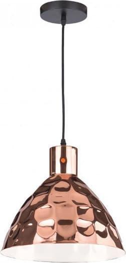 Κρεμαστό Φωτιστικό 1Φ Μεταλλικό Ροζ Χαλκός Ø220 V-TAC 3711