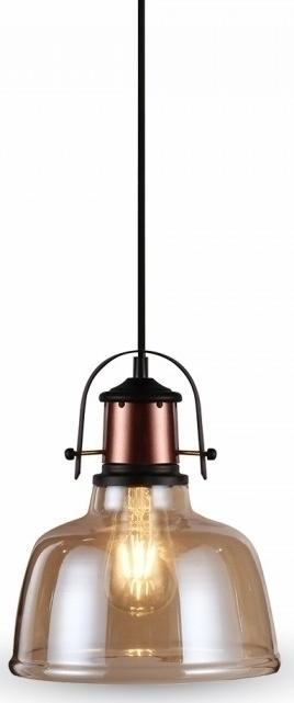 Κρεμαστό Φωτιστικό 1Φ Amber Γυαλί V-TAC 3726
