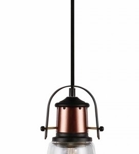 Κρεμαστό Φωτιστικό 1Φ Διάφανο Γυαλί V-TAC 3727