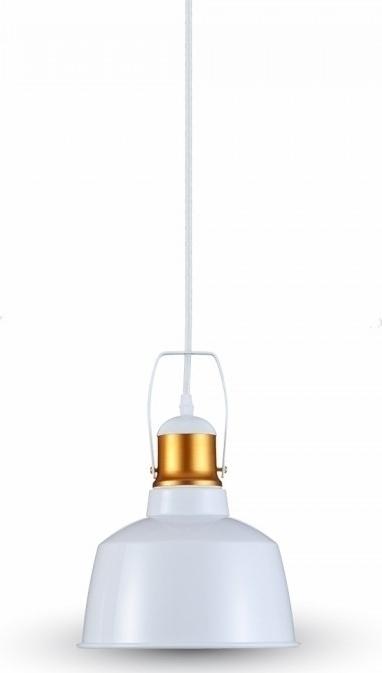Κρεμαστό Φωτιστικό 1Φ Vintage Αλουμίνιο Λευκό V-TAC 3729