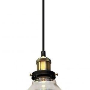 Κρεμαστό Φωτιστικό 1Φ Διάφανο Γυαλί V-TAC 3730