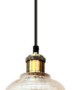 Κρεμαστό Φωτιστικό 1Φ Διάφανο Γυαλί V-TAC 3733