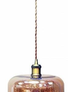 Κρεμαστό Φωτιστικό 1Φ Amber Γυαλί V-TAC 3740