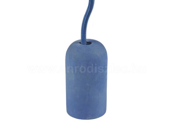 Ανάρτηση Τσιμέντο Μπλε Καλώδιο Κρεμαστό Φωτιστικό 1Φ V-TAC 3744