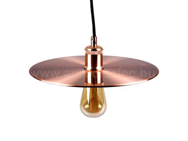Κρεμαστό Φωτιστικό Μεταλλικό Ροζ Χαλκός V-TAC 3751