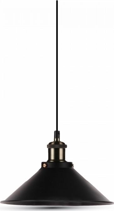 Κρεμαστό Φωτιστικό Μεταλλικό Μαύρο V-TAC 3753