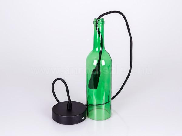Μπουκάλι Πράσινο Γυαλί Κρεμαστό Φωτιστικό Ε14 1Φ V-TAC 3767