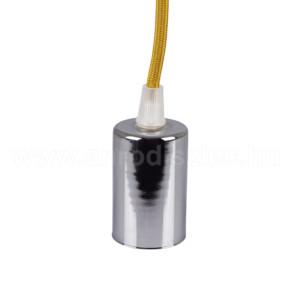 Ανάρτηση Μπεζ Καλώδιο Κρεμαστό Φωτιστικό Χρώμιο 1Φ V-TAC 3794