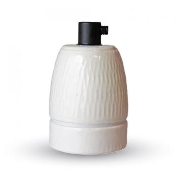 Ντουί Πορσελάνης Λευκό Ε27 V-TAC 3795