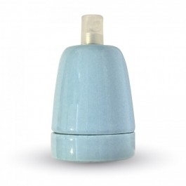 Ντουί Πορσελάνης Μπλε Ε27 V-TAC 3798