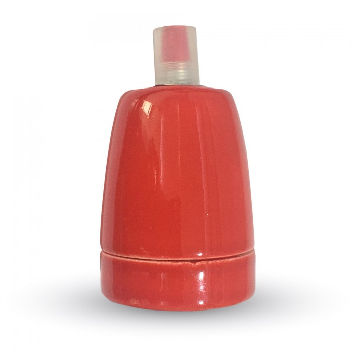 Ντουί Πορσελάνης Κόκκινο Ε27 V-TAC 3799