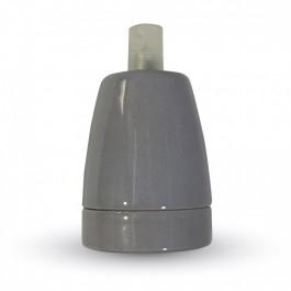 Ντουί Πορσελάνης Γκρι Ε27 V-TAC 3800