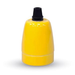 Ντουί Πορσελάνης Κίτρινο Ε27 V-TAC 3801