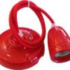 Ανάρτηση Πορσελάνης-Κόκκινο Κρεμαστό Φωτιστικό 1Φ V-TAC 3807